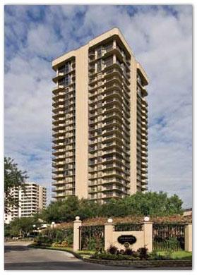 Houston High Rise Apartments Galleria