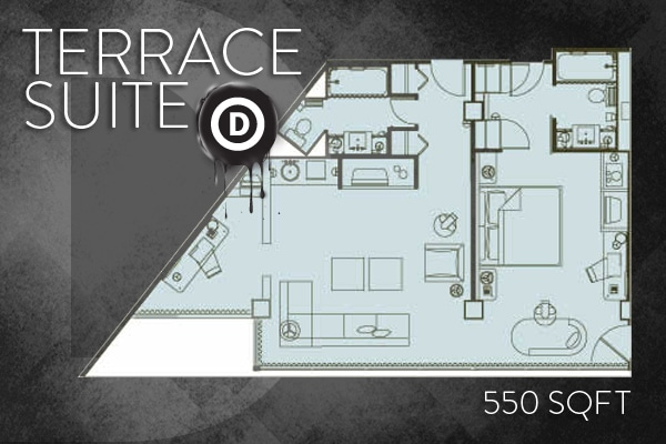 Hotel Derek floorplan-terrace-suite