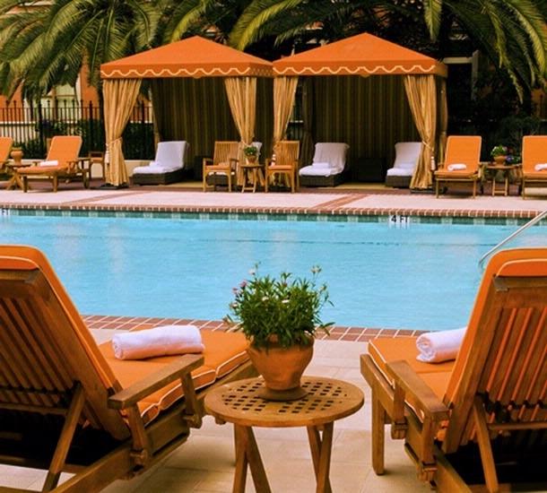 Hotel Granduca Pool Area