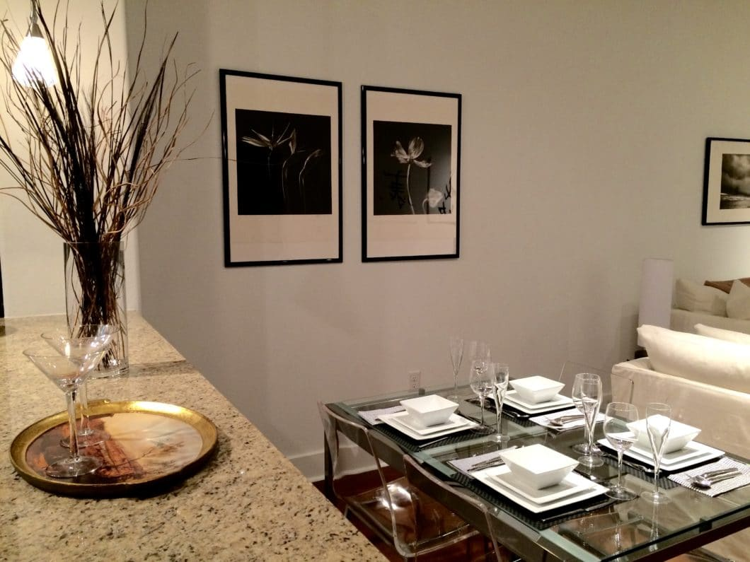 Beautiful Luxury Short Term Rental Houston Breakfast