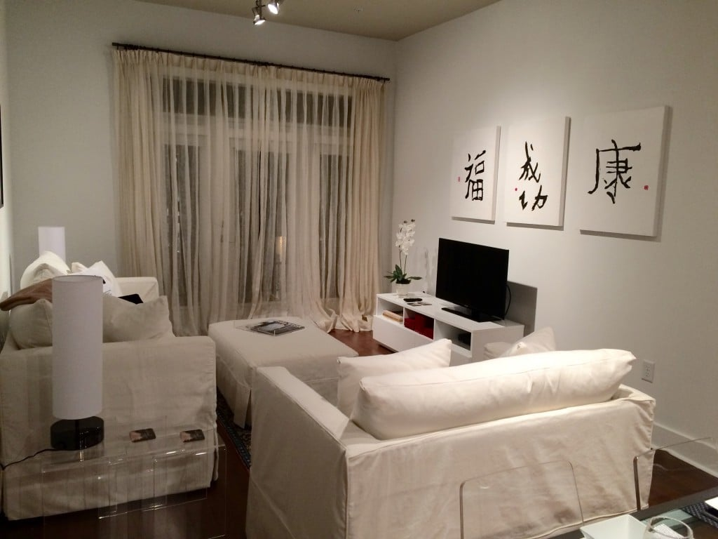 Luxury Short Term Rental Houston Living Area