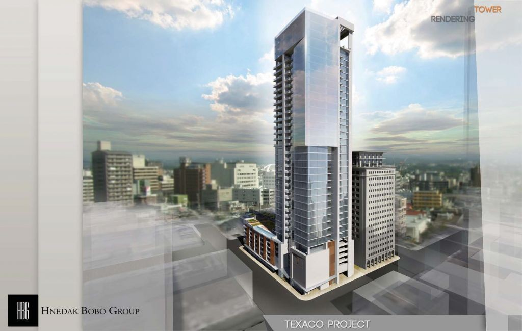 111 Rusk High Rise Renderings