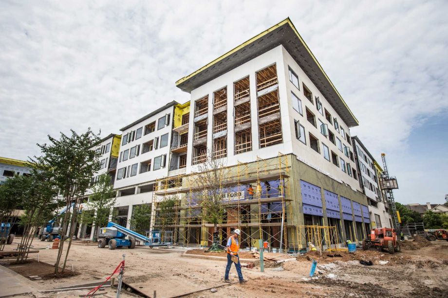 River Oaks District Hotel Construction