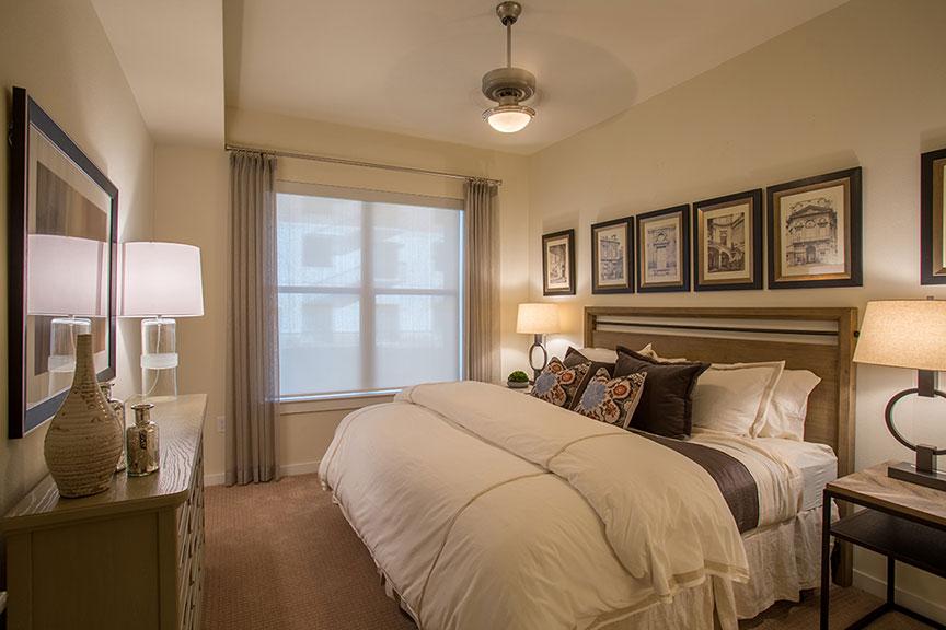 500 Crawford Model Bedroom