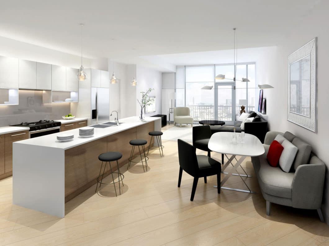 Kitchen LivingRoom 5052A