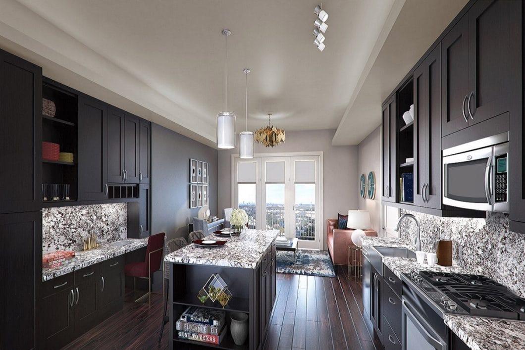 High Rise Model Kitchen