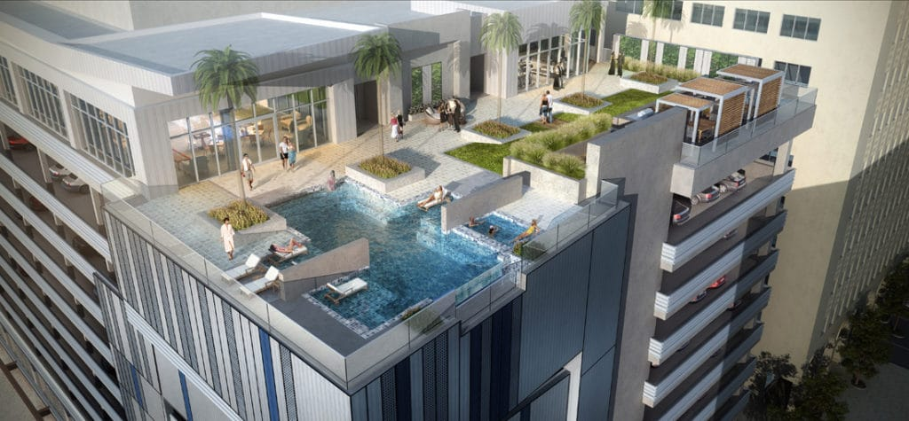 Star Texaco High Rise Pool Area