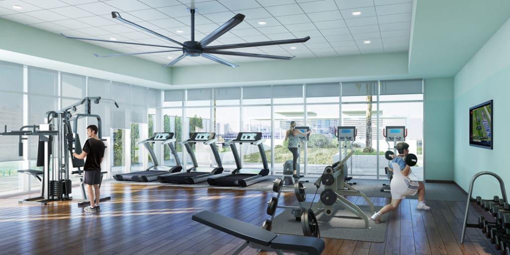 Star Texaco High Rise Fitness Room