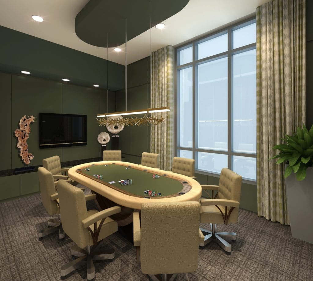 Market Square Tower Poker Suite