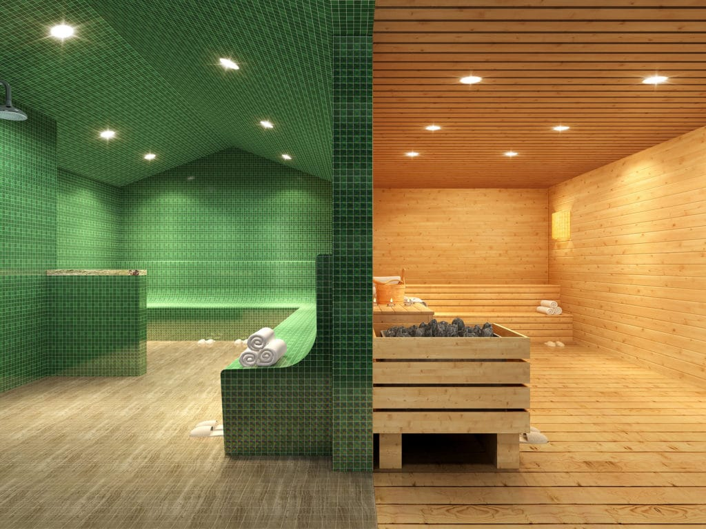 Market Square Tower Steam Sauna Rooms
