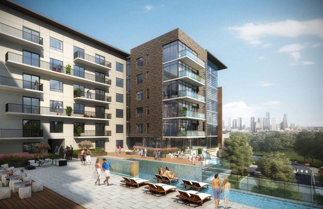 The Tanglewood Apartments Houston