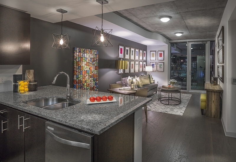 Garage Parking Stop >> SkyHouse Main Apartments | HoustonLuxuryApartments.com by MK