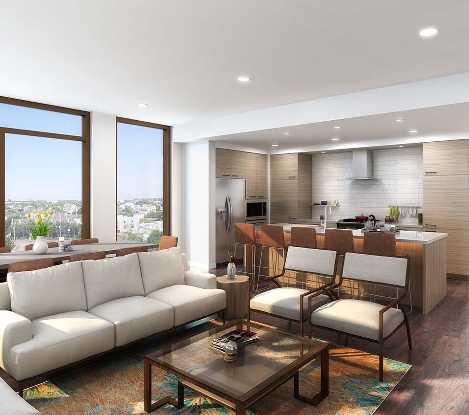 Studio Apartments Houston: Buffalo Heights Development Underway